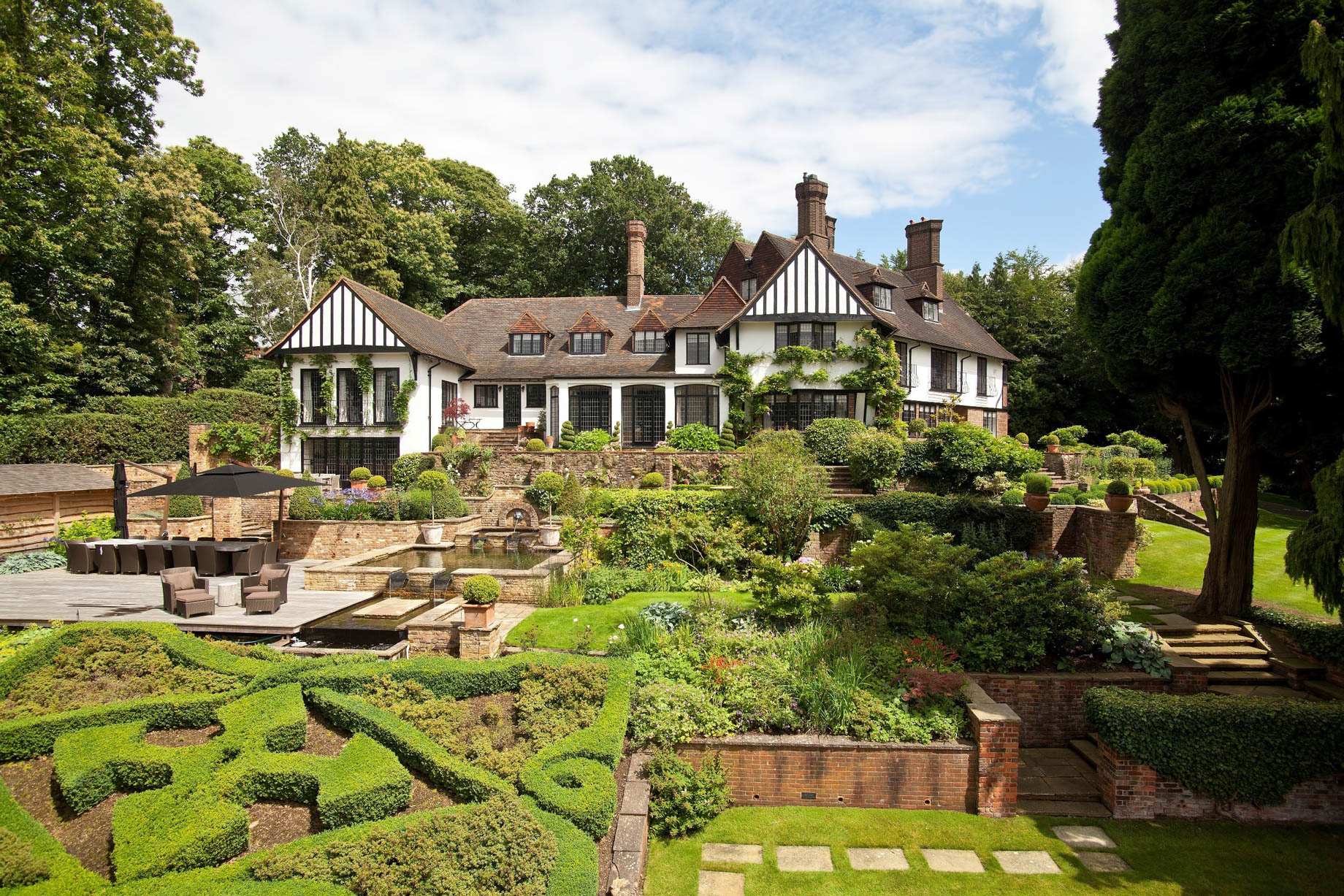 John Lennon's Former Kenwood Home - Weybridge, Surrey, England, UK