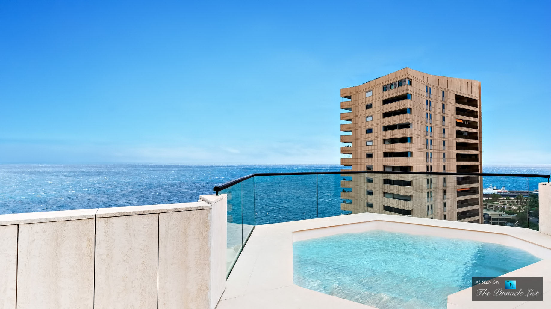 Penthouse with Private Pool - Rooms with a View - 4 Luxury Penthouses For Sale in Monaco