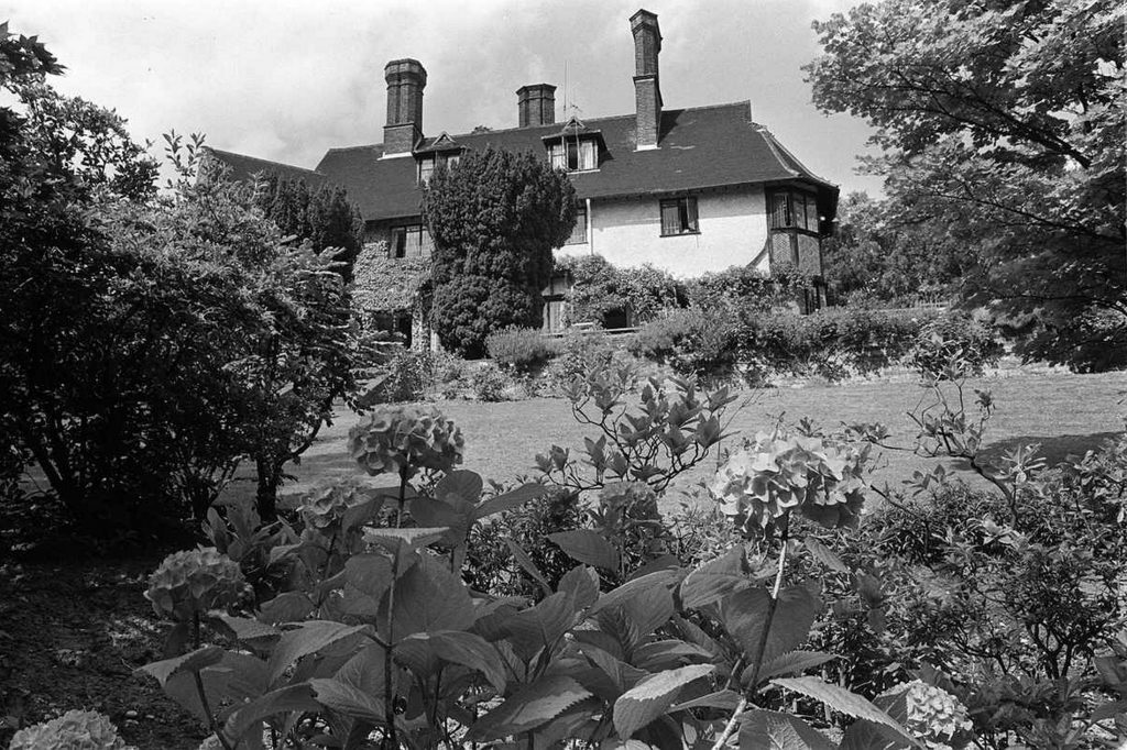 Historical - John Lennon's Former Kenwood Home - Weybridge, Surrey, England, UK
