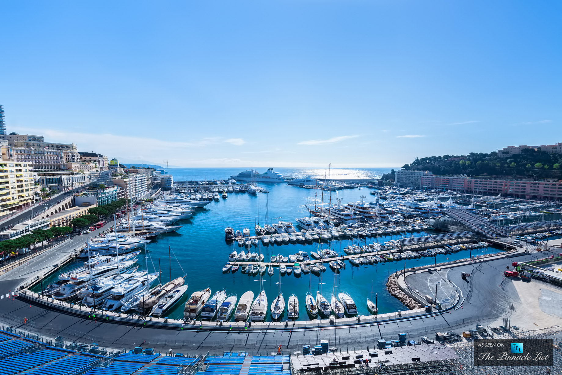 Portside Penthouse - Rooms with a View - 4 Luxury Penthouses For Sale in Monaco