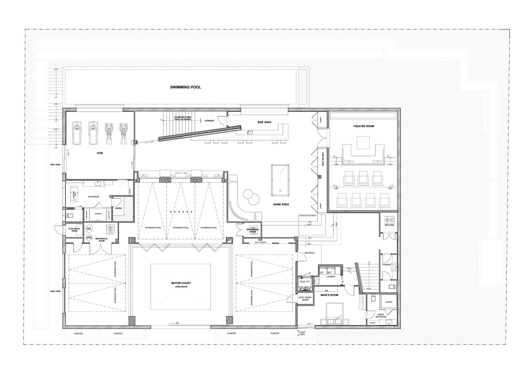 Floor Plans Sunset Strip Modern 1307 Sierra Alta Way Los Angeles Ca Usa The Pinnacle List
