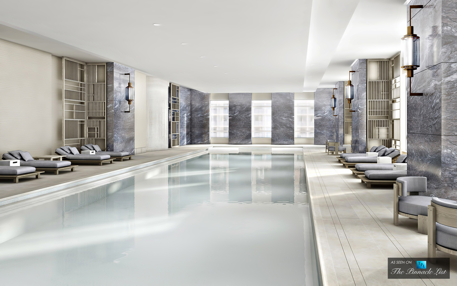 30 Park Place - New York Citys Hottest New Development Fitness Rooms
