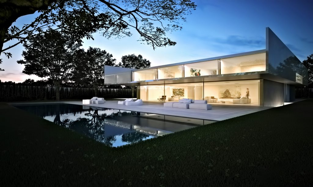 Render - Casa de Aluminio Luxury Residence - Madrid, Spain