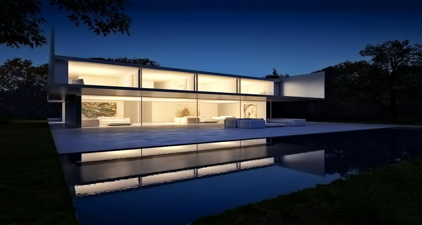 Render – Casa de Aluminio Luxury Residence – Madrid, Spain