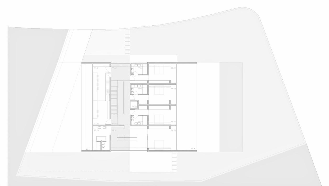 Floor Plans – Casa de Aluminio Luxury Residence – Madrid, Spain