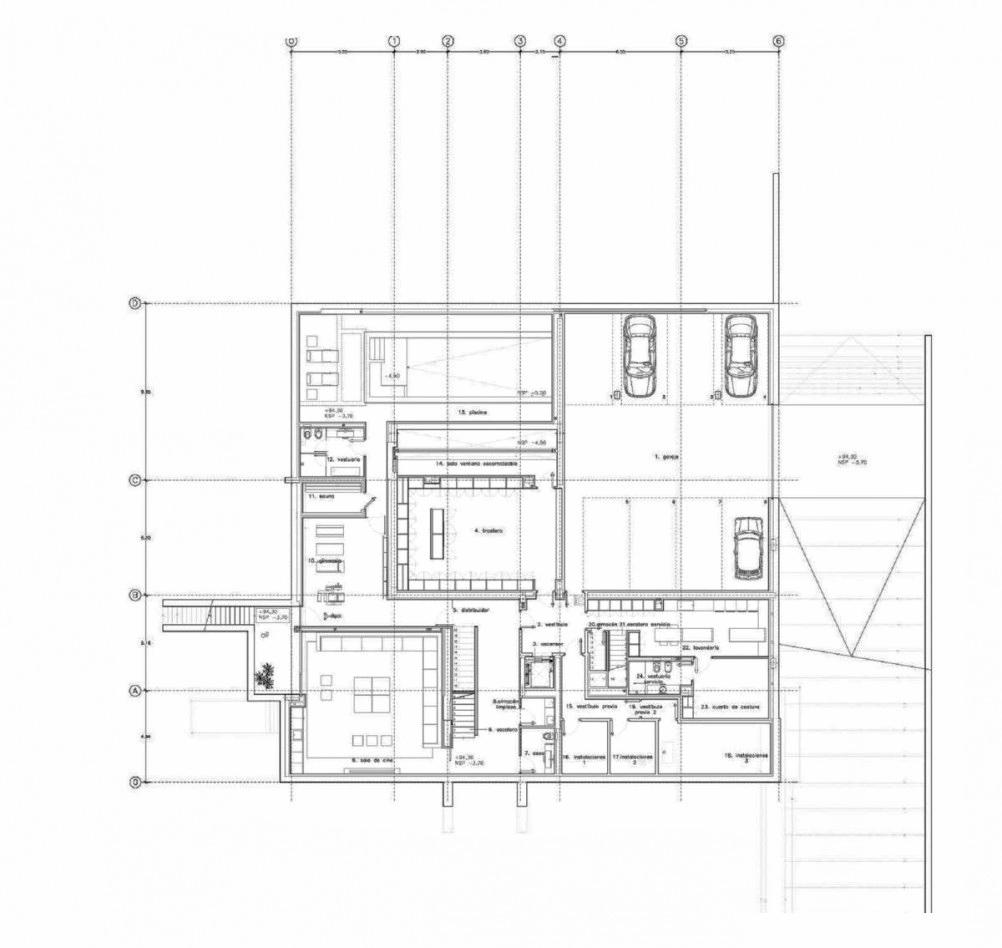Floor Plans - Casa Moka Luxury Residence – Pozuelo de Alarcón, Madrid, Spain
