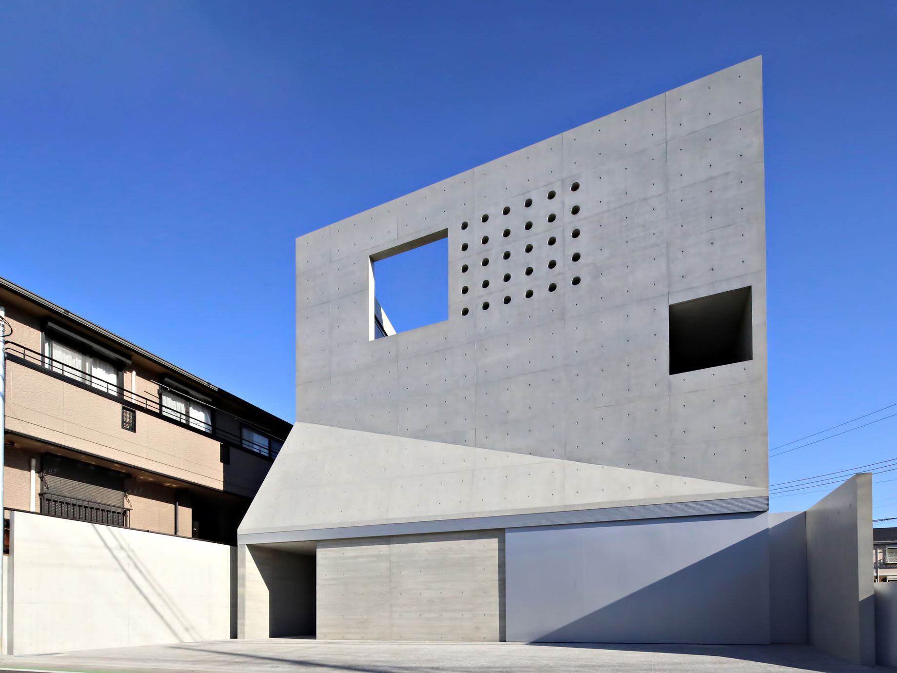 Tsudanuma House – Narashino, Chiba Prefecture, Japan