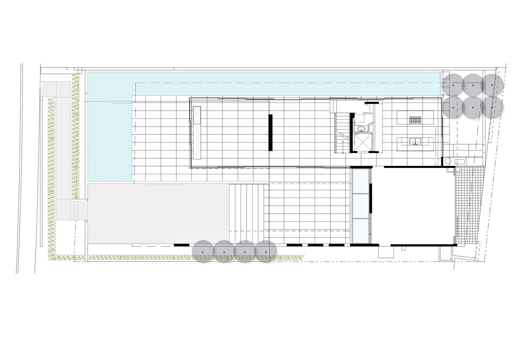 Floor Plans - The Cresta Luxury Residence - La Jolla, San Diego, CA, USA