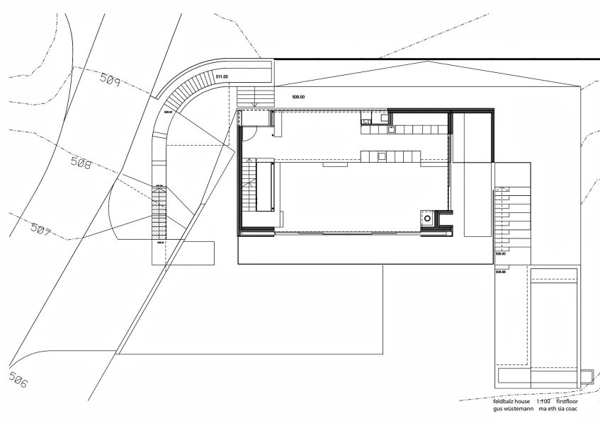 Floor Plans - Feldbalz House Luxury Residence - Zürichsee, Zürich, Switzerland