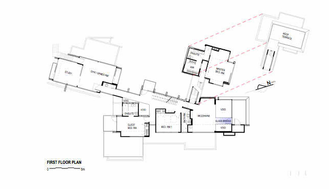 Floor Plans - Redcliffs Estuary Luxury Residence - Christchurch, New Zealand