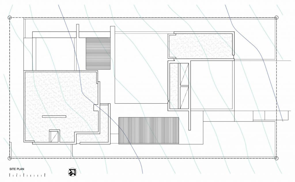 Site Plan - Pearl Bay Residence - Yzerfontein, Western Cape, South Africa