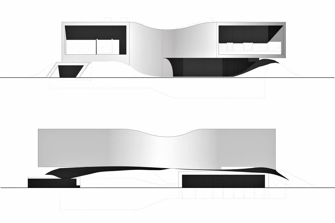 Elevations – Villa MQ Luxury Residence – Tremelo, Flemish Brabant, Belgium