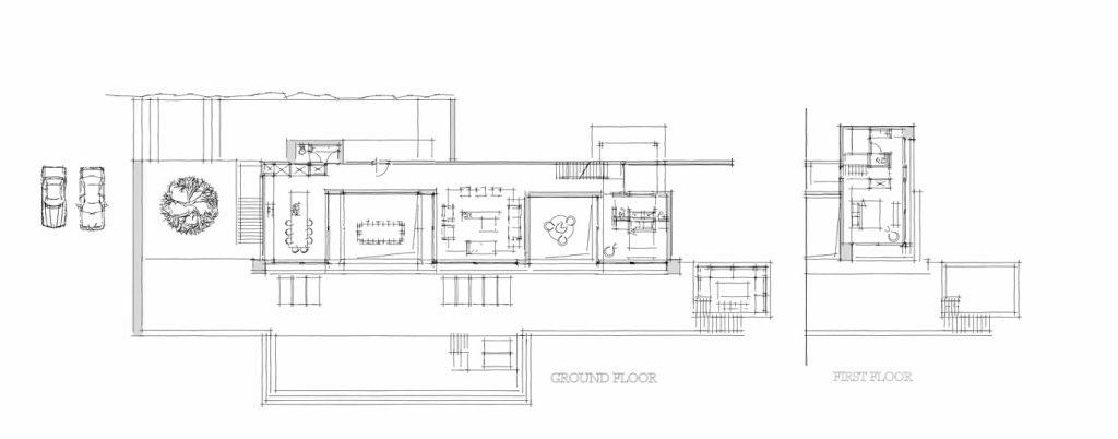 Floor Plans - Silver House Luxury Residence - Zakynthos Island, Greece