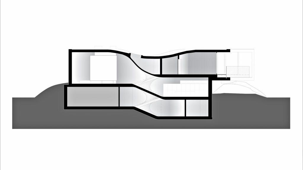 Sections - Villa MQ Luxury Residence - Tremelo, Flemish Brabant, Belgium