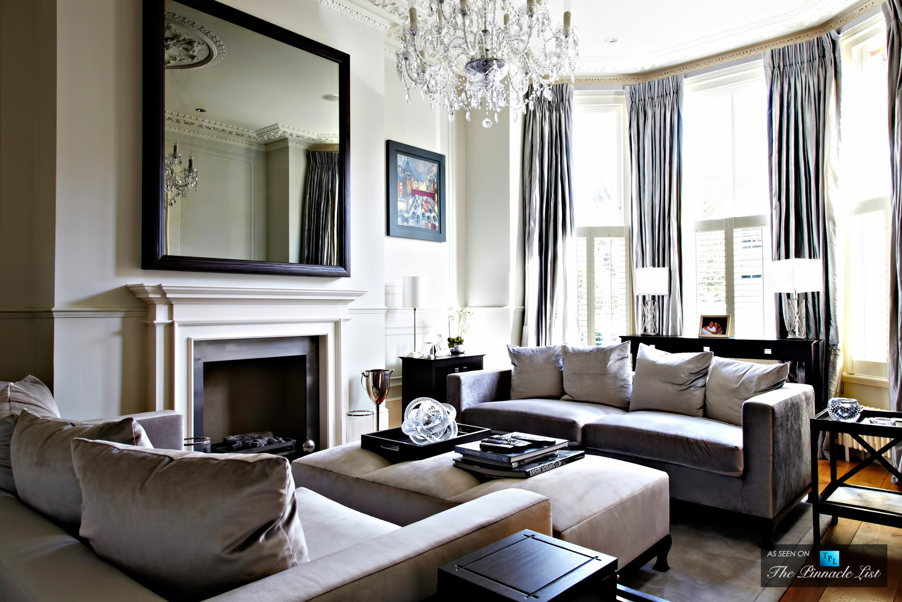 Go Long and Wide with Curtains - Six Simple Ways to Turn a House into a Home with Luxurious Touches