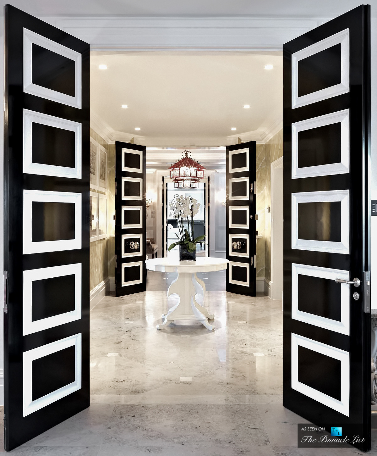 Paint your Interior Doors - Six Simple Ways to Turn a House into a Home with Luxurious Touches