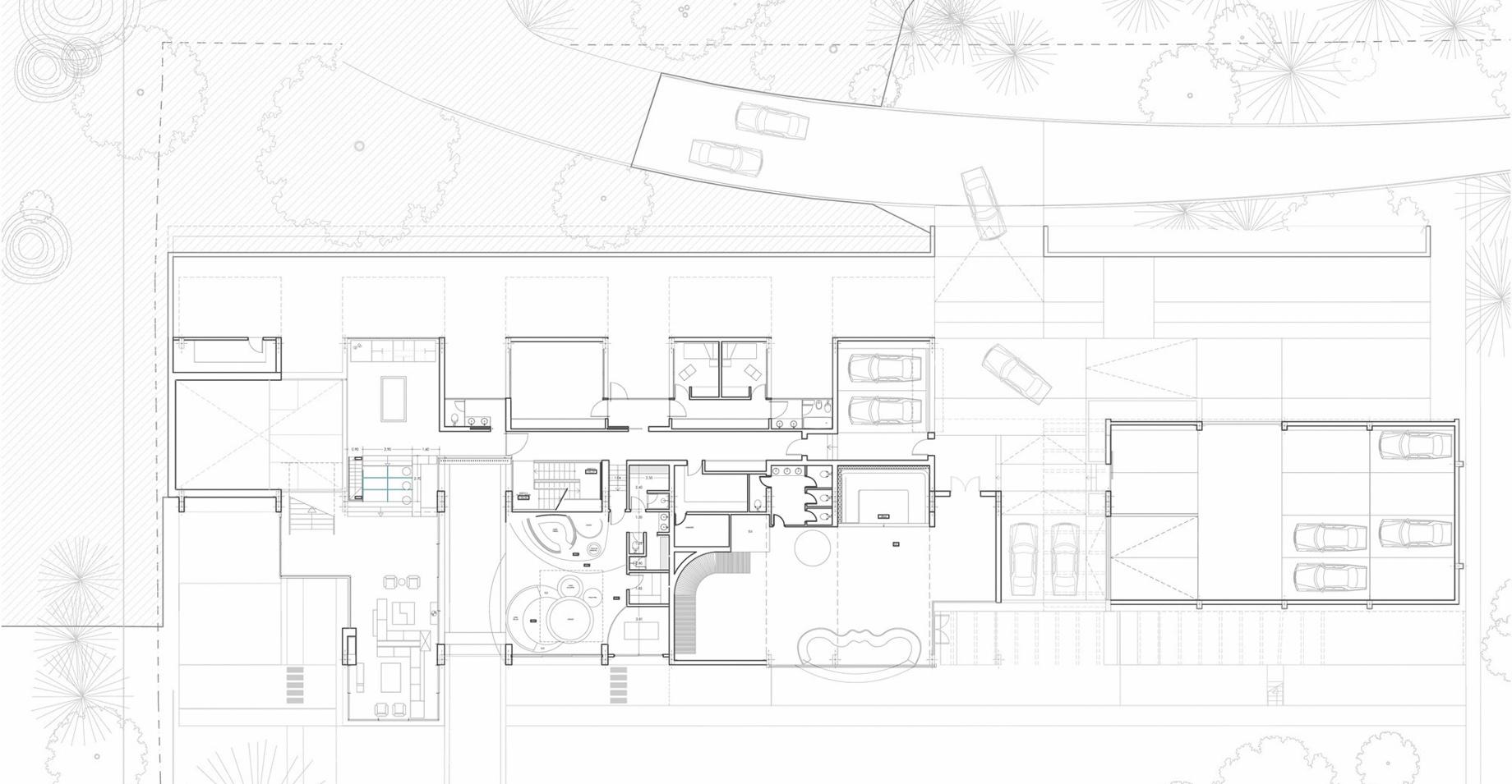 Floor Plans – La Moraleja Luxury Residence – Alcobendas, Madrid, Spain