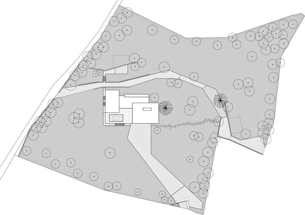 Site Plan - Decin Villa Luxury Residence - Ústí nad Labem, Czech Republic