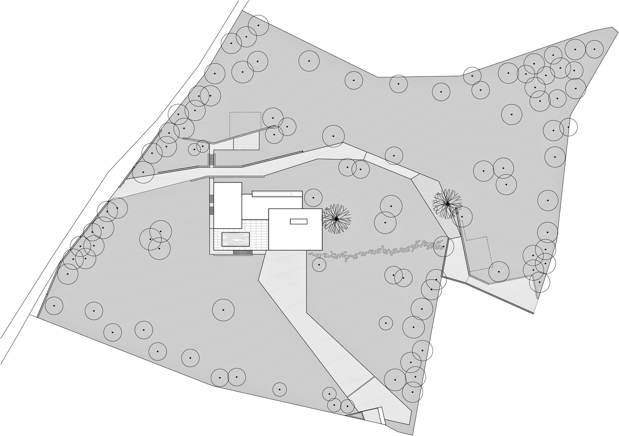 Site Plan – Decin Villa Luxury Residence – Ústí nad Labem, Czech Republic