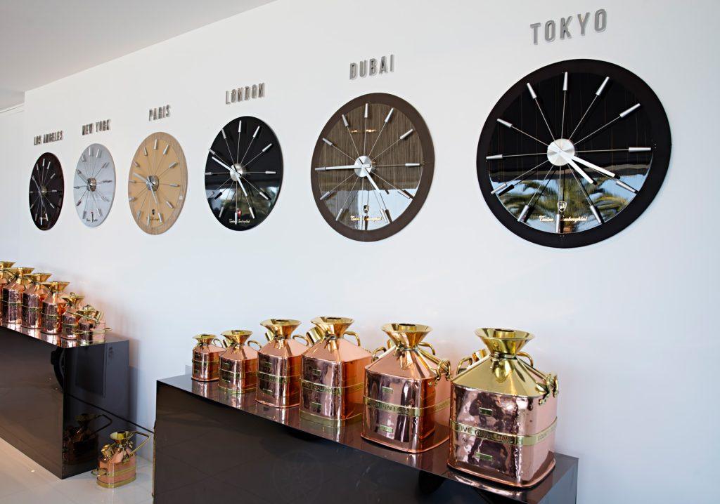 Lamborghini Wall Clocks - 924 Bel Air Rd, Los Angeles, CA, USA