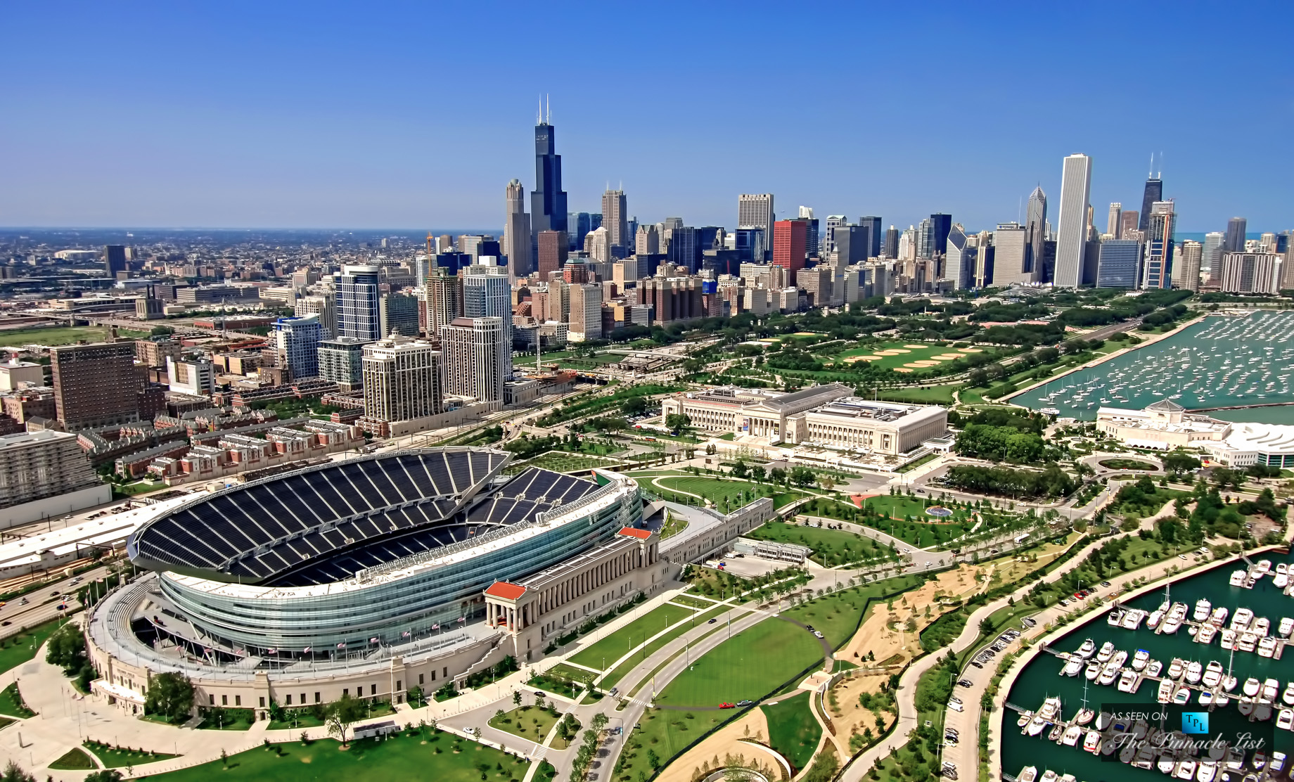 Soldier Field - Field Museum - Shedd Aquarium - Windy City Living - Top 5 Reasons to Raise a Family in Chicago