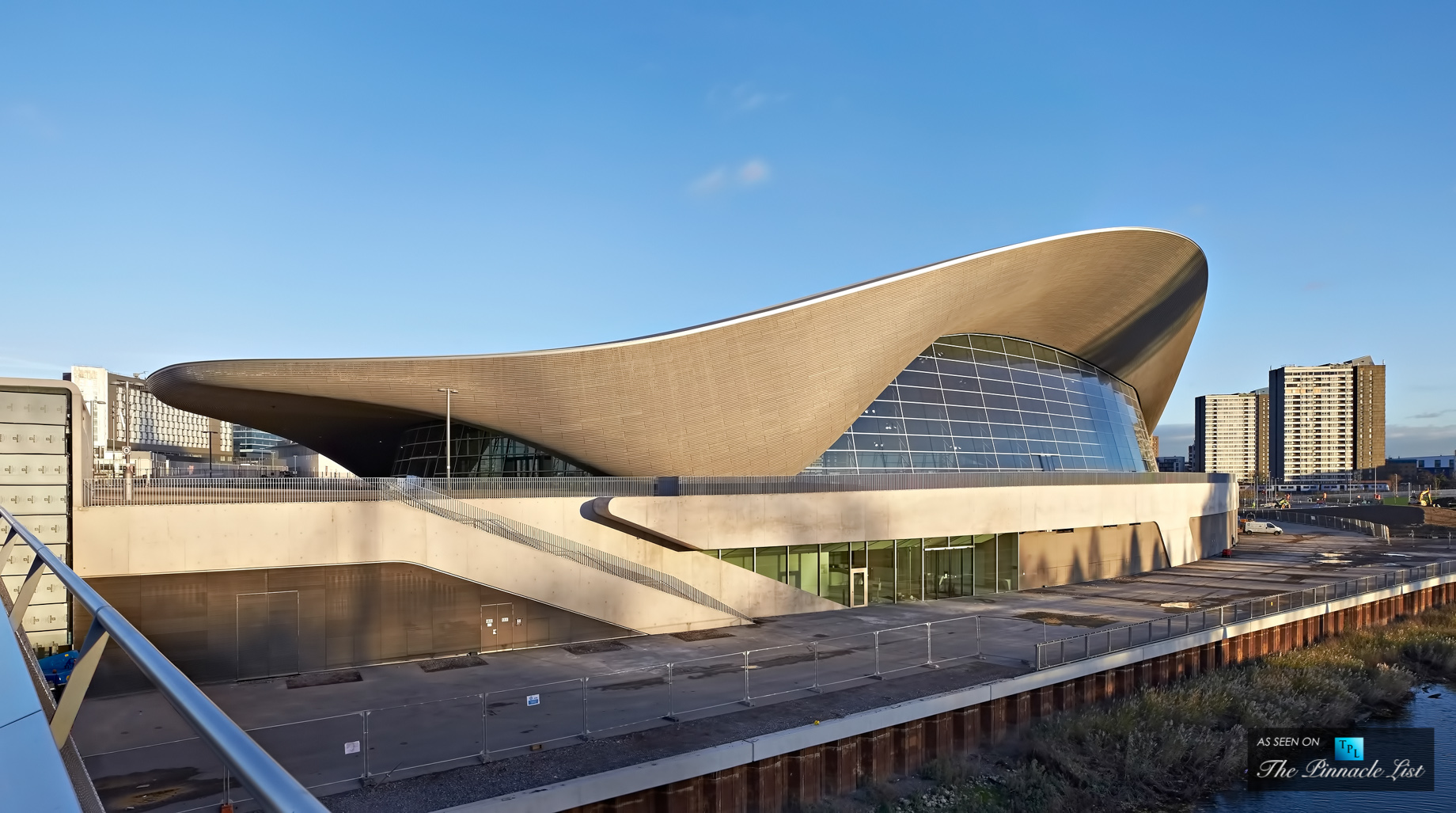 London Aquatic Center - Zaha Hadid Architects