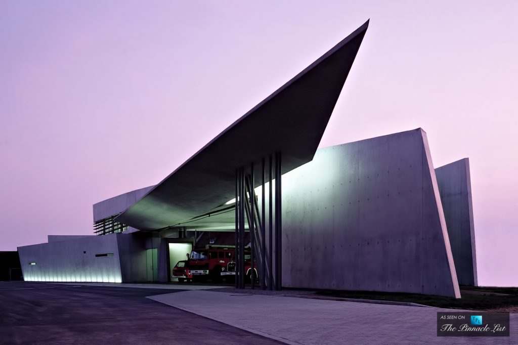 Vitra Fire Station - Zaha Hadid Architects