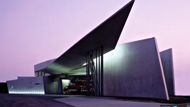 Vitra Fire Station - Zaha Hadid Architects