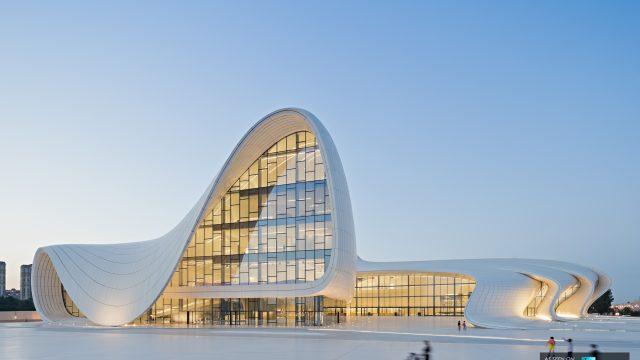 Heydar Aliyev Cultural Center - Zaha Hadid Architects