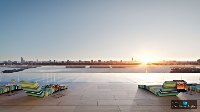 Missoni Baia Pool - Glamorous Condo Living - Luxury Investment in the Miami Real Estate Market