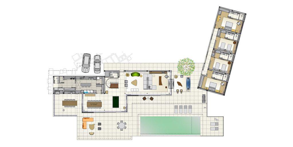 Floor Plans - Fazenda Boa Vista Luxury Residence - Porto Feliz, São Paulo, Brazil