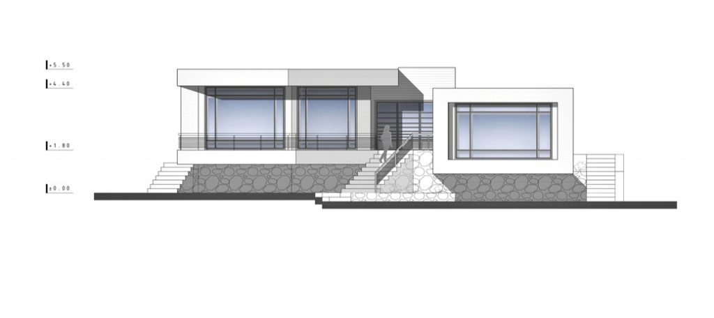 Elevations - Villa No. 02 Luxury Residence - Sadra, Shiraz, Fars, Iran