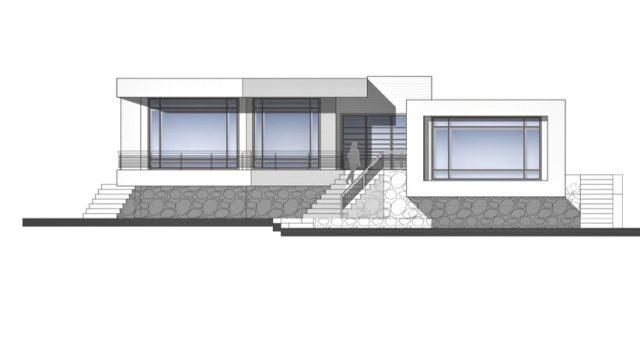 Elevations - Villa No. 02 Luxury Residence - Sadra, Shiraz, Fars, Iran