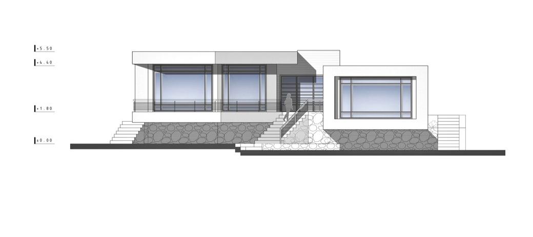 Elevations – Villa No. 02 Luxury Residence – Sadra, Shiraz, Fars, Iran