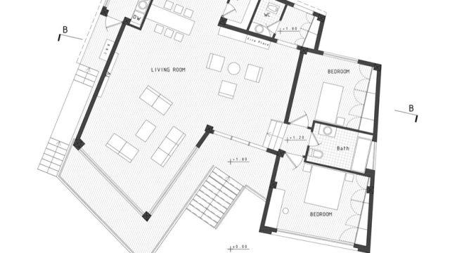 Floor Plans - Villa No. 02 Luxury Residence - Sadra, Shiraz, Fars, Iran