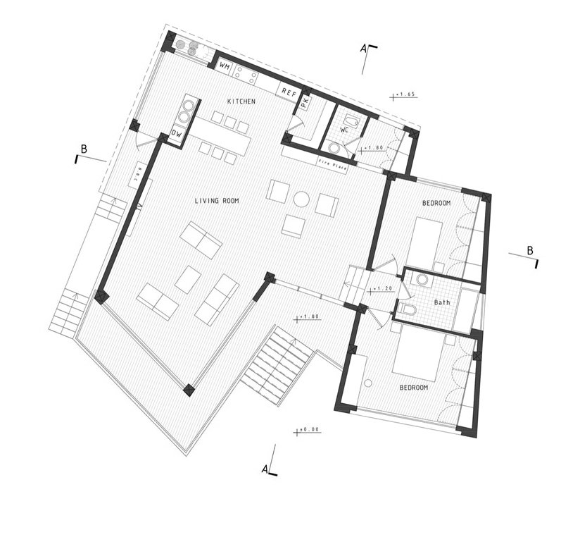 Floor Plans - Villa No. 02 Luxury Residence - Sadra, Shiraz, Fars, Iran