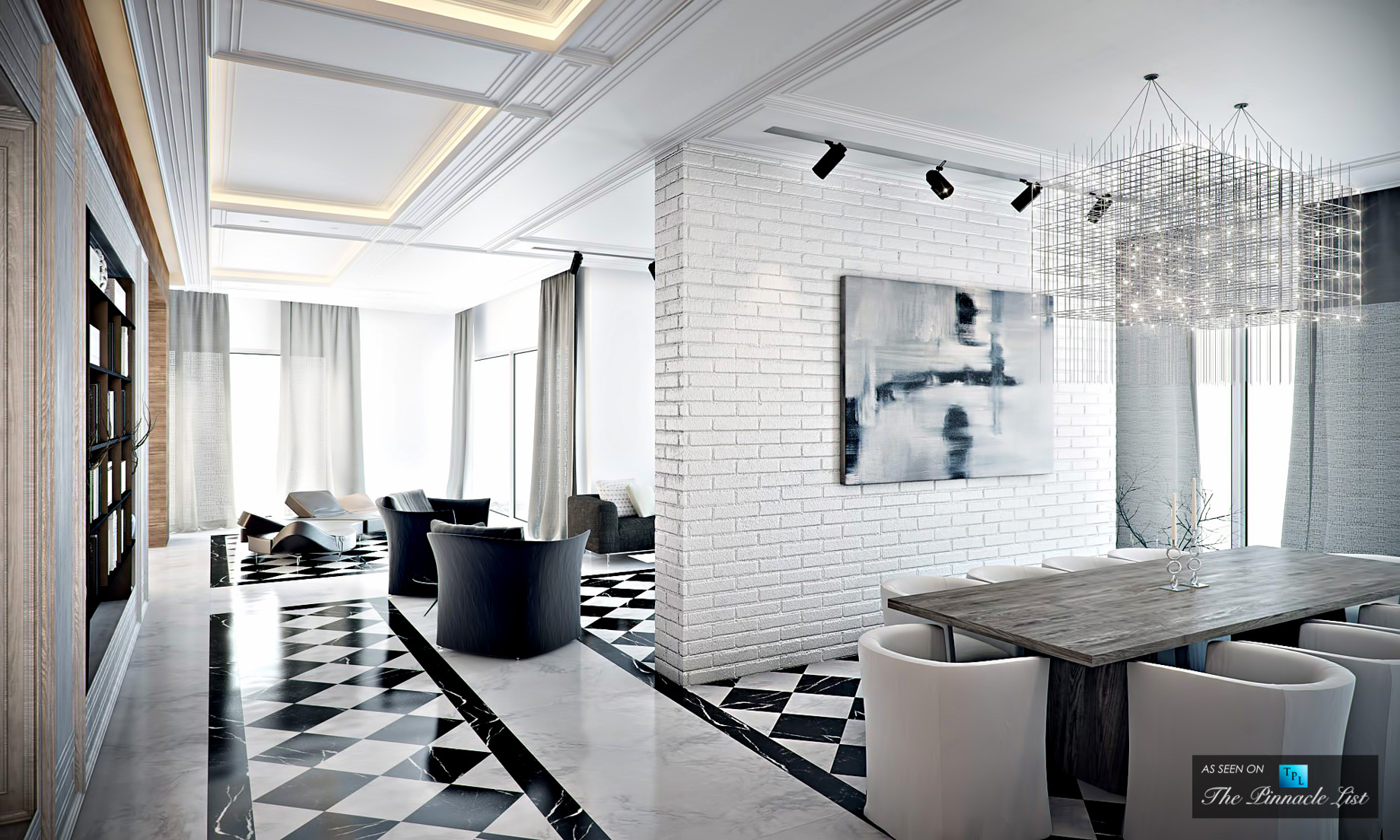 Simplify the Color Palette - Luxury Home Design - 3 Strategies to Create Chic Modern Interiors