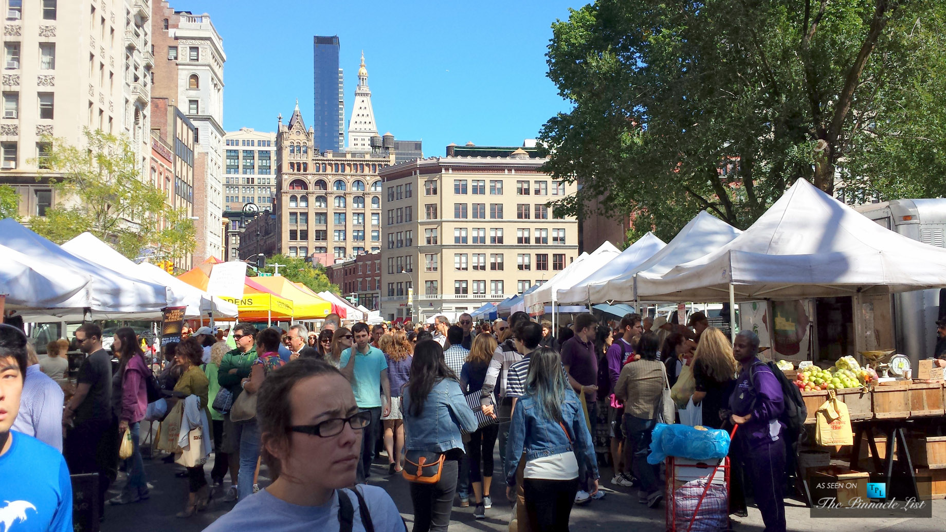Union Square Greenmarket - Enviable New York Living - A Residents Guide to 88 and 90 Lexs Gramercy Neighborhood