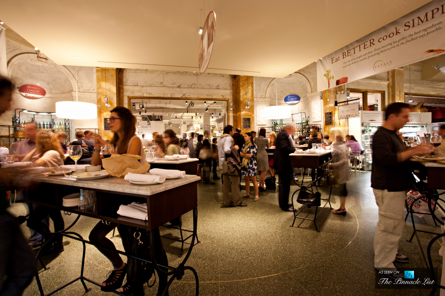 Grab some food at Eataly - Enviable New York Living - A Residents Guide to 88 and 90 Lexs Gramercy Neighborhood