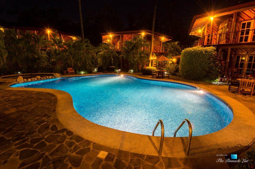 Tambor Tropical Beach Resort - Tambor, Puntarenas, Costa Rica - Pool View at Night