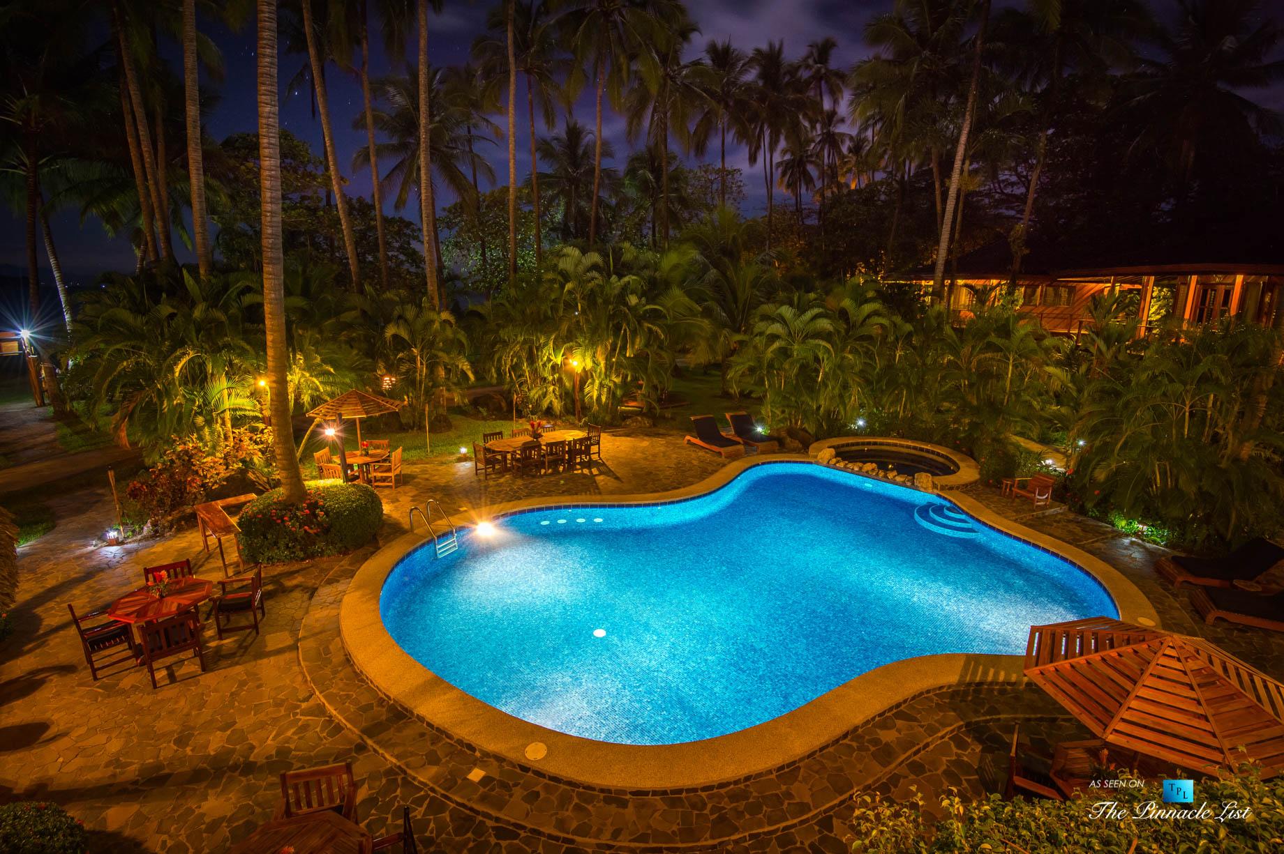 Tambor Tropical Beach Resort – Tambor, Puntarenas, Costa Rica – Tropical Pool at Night