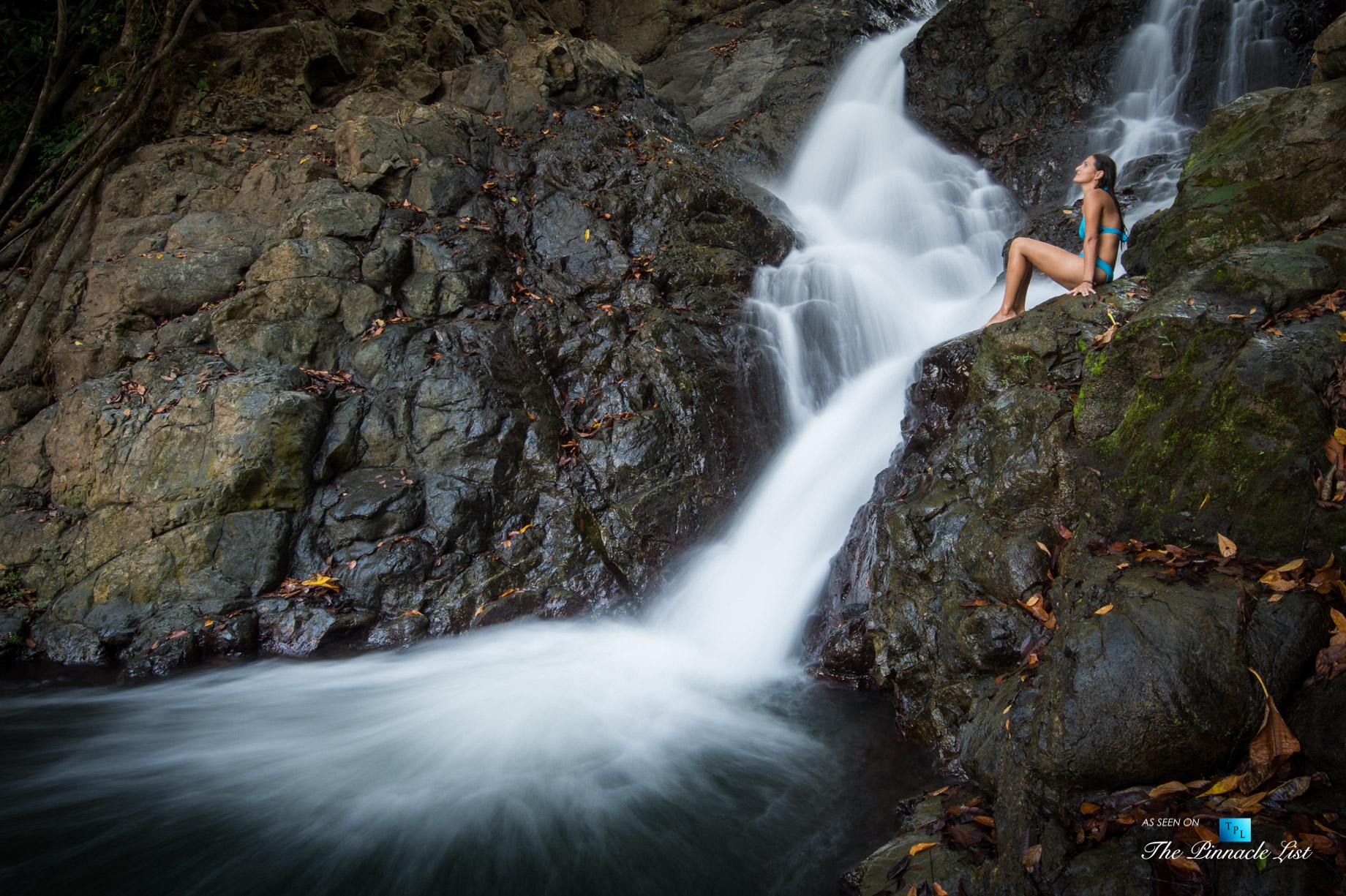 Tambor Tropical Beach Resort – Tambor, Puntarenas, Costa Rica – Panica Waterfall Swim
