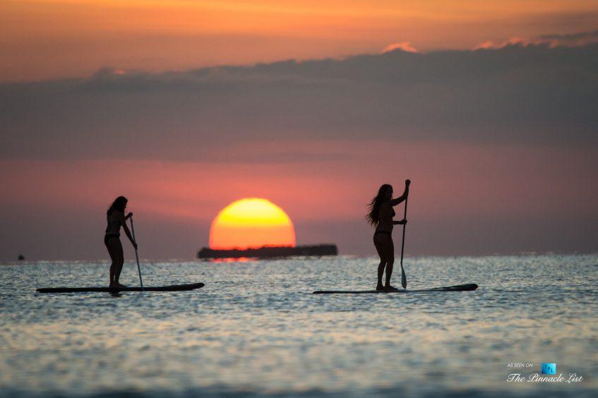 Tambor Tropical Beach Resort - Tambor, Puntarenas, Costa Rica - Sunset Paddle Boarding