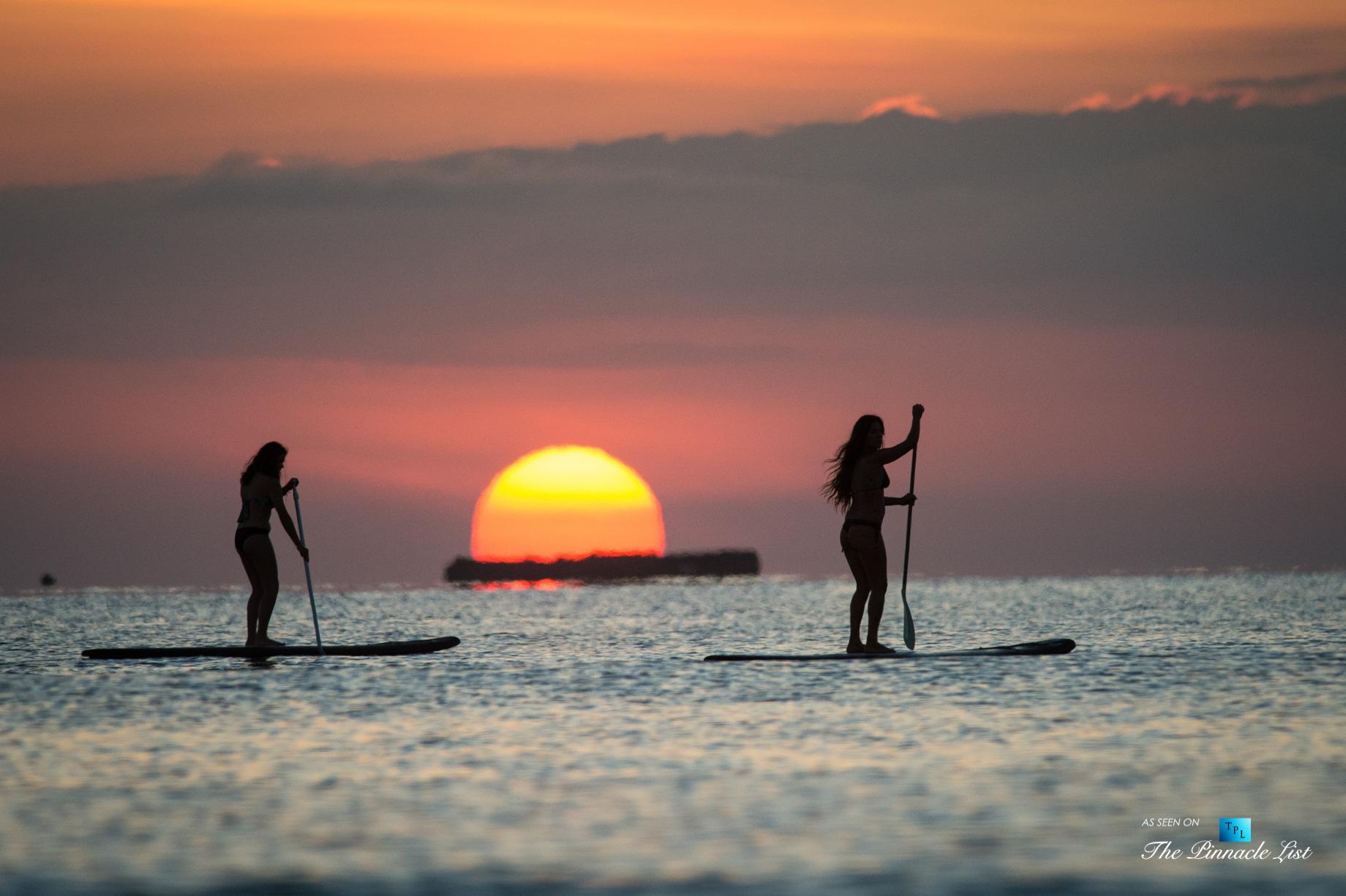 Tambor Tropical Beach Resort – Tambor, Puntarenas, Costa Rica – Sunset Paddle Boarding