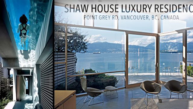 Shaw House Residence - Point Grey Rd, Vancouver, BC, Canada