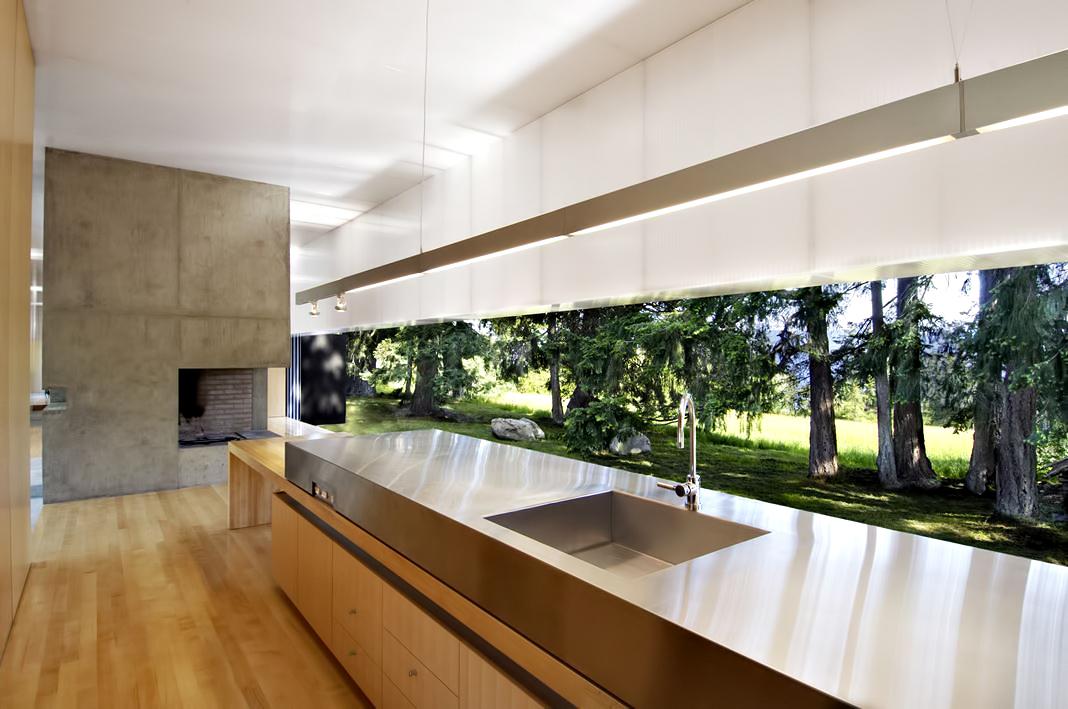 Linear House - Fernwood Rd, Salt Spring Island, BC, Canada