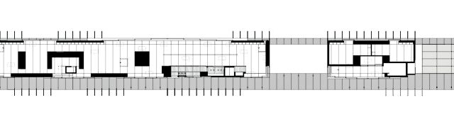 Reflected Ceiling Plan - Linear House - Fernwood Rd, Salt Spring Island, BC, Canada