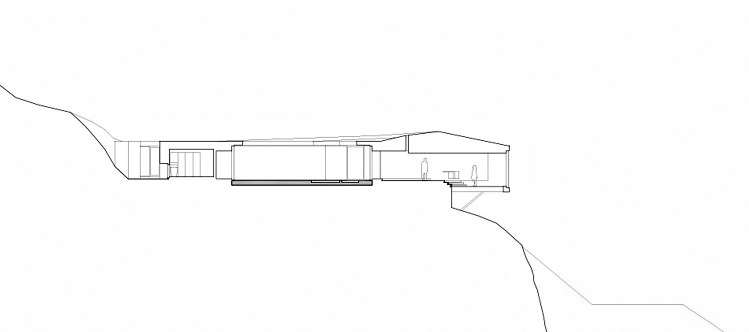 Sections – Tula House Luxury Residence – Quadra Island, BC, Canada