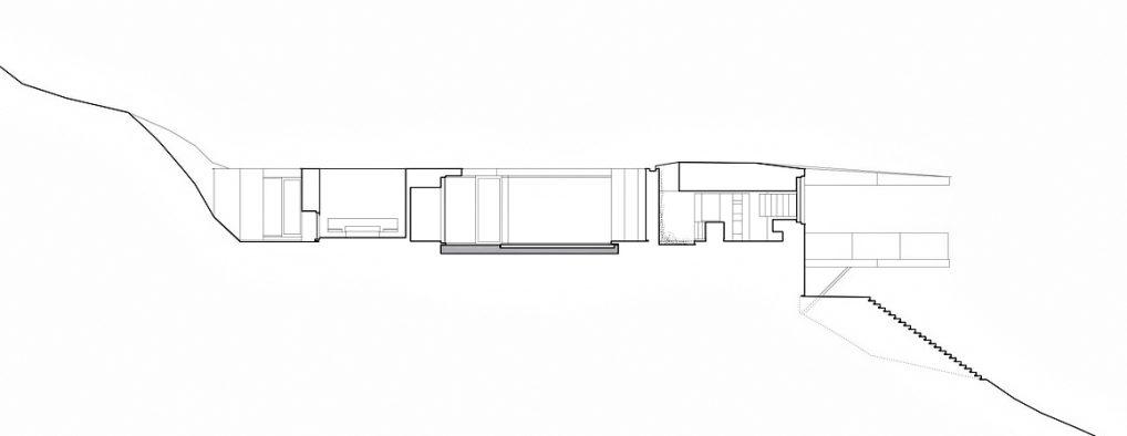 Sections - Tula House Luxury Residence - Quadra Island, BC, Canada