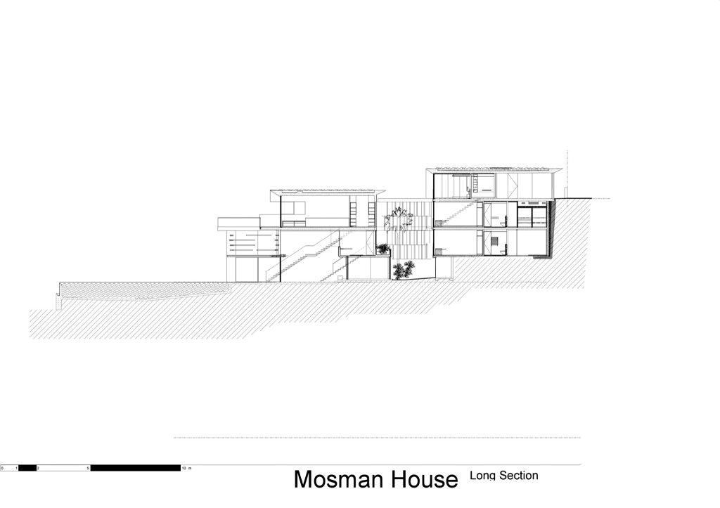 Elevation - Mosman House Residence - Sydney, New South Wales, Australia